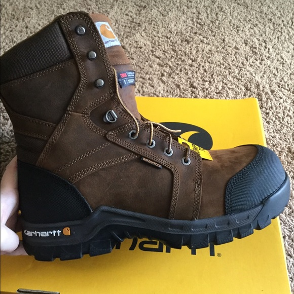14b68681f86 Carhartt Rugged Flex WaterProof Insulated WorkBoot NWT